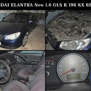ПИ011261 Лот 10 HYUNDAI Elantra 1.6 GLS MT