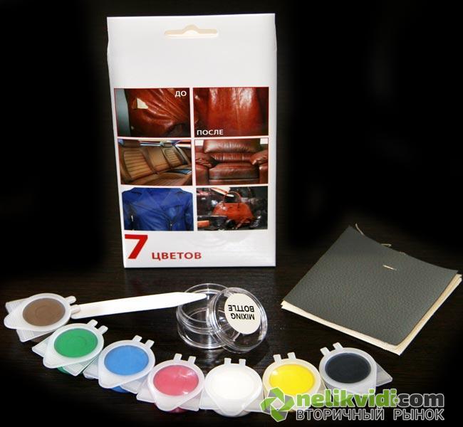 31d6e13a1353 Ремкомплект Жидкая Кожа Bradex клей краска средство для ремонта изделий из  кожи